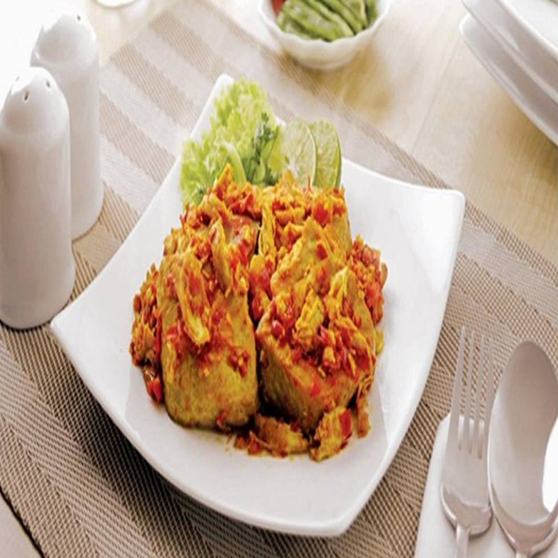 Resep Tahu Rica Ayam Suwir