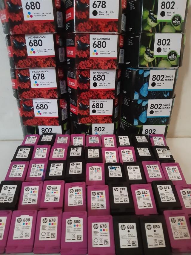 Kami Terima Jual beli tinta printer, cartridge, toner bekas dan baru dengan harga tinggi